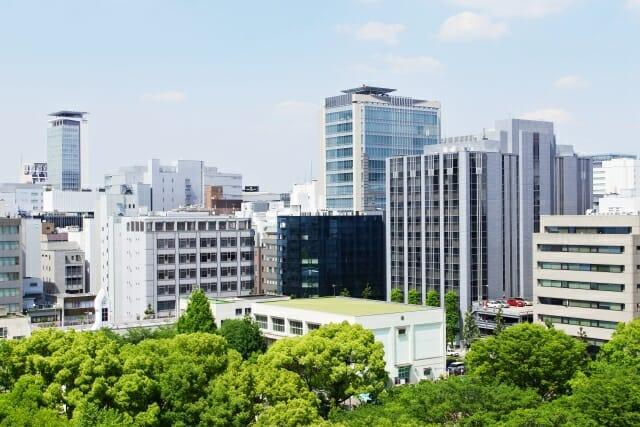 名古屋のオフィス街