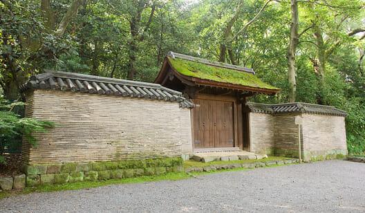 熱田神宮の開かずの門、清雪門